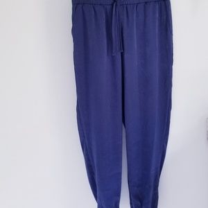 Any Body blue jogger lounge pants Small T
